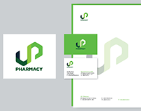 logo & branding for University Pharmacy