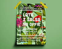 LATO Z SALSA - Poster for event