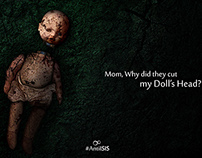 Mom, Why did they cut my Doll's Head ?