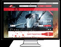 UI/UX - Ref: Cinema Website