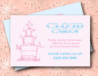 Business Card for Cake Baker