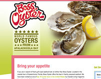 Boss Oyster: Web Design