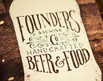 Founders Brewing Co. Menu