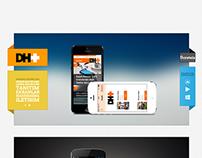 DH+ Web Site Design