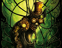 Steampunk Cat - Editions du Chat Noir