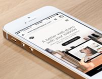 App UI Close-Up Mock-Up 5s White