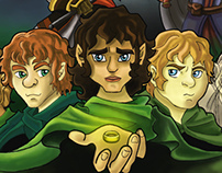 The Lord of the Rings Movie Poster Design