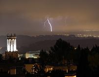 Lightning timelapse