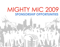 Mighty Mic Sponsorship Packet