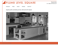 Plumb Level Square Website