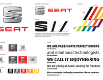 New SEAT Brand CI Implementation