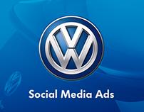 VW Social Media Ads
