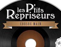 """CD Cover """"Les Ptits Repriseurs"""""""