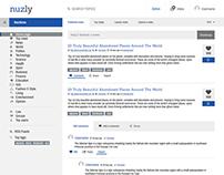 nuzly - Social Sharing News Platform