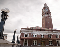 Seattle King Street Station (Out) Time-lapse