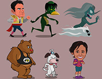 Game Vector Characters