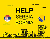 HELP FOR SERBIA AND BOSNIA