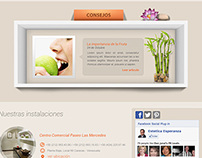 Esperanza Martinez Spa - Website