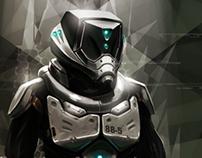 Soldier Suit Concept: Blacklight