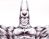 Batman concept 004 (Pencils and inks)