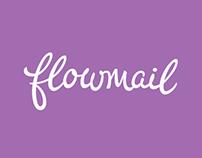 Flowmail Logotype Process