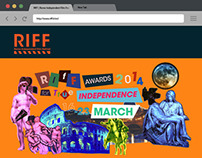 RIFF Website Re-design | April 2014