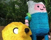 Adventure Time Pinhatas
