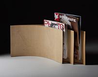 Carlo Contin - Wing Magazine rack