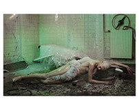 "Editorial  ""Dark Feelings"" ODDA  Versace couture"