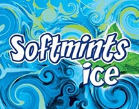 Softmints Ice Product Display Stand