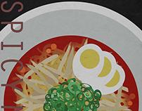 Benten Ramen Poster
