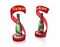 Displays for Distilled Beverage Company
