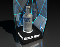 Vodka Display Concepts for Nightclub
