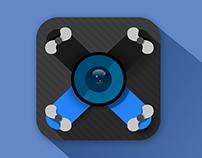 'Drone Control' Icon Design