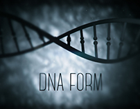 DNA Form (After Effects experiment)