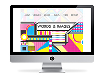 Website Design for Words and Images