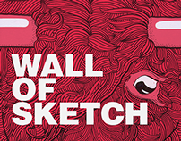 Wall Of Sketch ! 2014