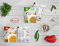 Instant soup package design