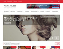 Newsright - Wordpress Premium HD News & Magazine