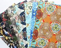 Kaleidoscopic Postcards of Oil Paintings
