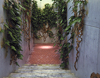 3D Exterior Stairs design