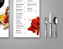 Gianni's Concept Menu Design