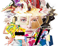 Top Fashion Book, Cover Collage