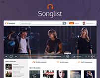 Songlist UI