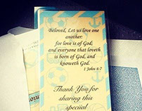 Baby Shower Bookmarks
