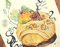 Pumpkin Mont Blanc