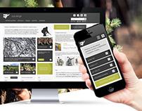 rus.mil.pl Responsive Web Design