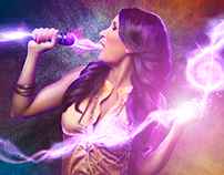 Photoshop Tutorial: Music Lights