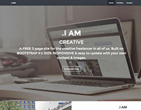 .I AM Bootstrap Site