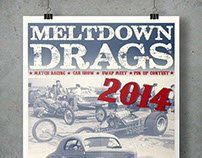 Meltdown Drags Posters